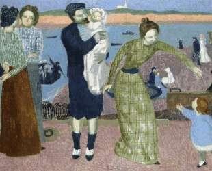 Parisians at the Seaside, Evening — Морис Дени