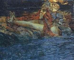 Parting of the Sea King and Princess Volkhova — Михаил Врубель