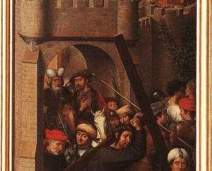 Алтарь Страстей (Триптих Гревераде), левое крыло — Ганс Мемлинг