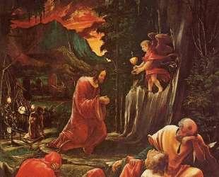Страсти Христовы. Христос на Елеонской горе — Альбрехт Альтдорфер