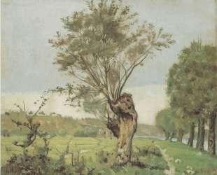 Pastures at the Jonction at Geneva — Фердинанд Ходлер