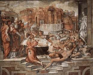 Paul III Farnese Directing the Continuance of St Peter's — Джорджо Вазари