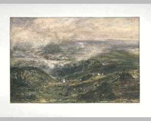 Paysage of Auvergne — Теодор Руссо