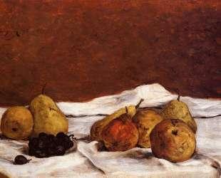 Груши и виноград — Поль Гоген