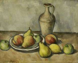 Груши, персики и кувшин — Аршил Горки