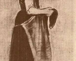 Peasant Girl Standing — Винсент Ван Гог