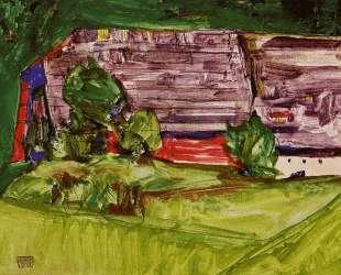 Peasant Homestead in a Landscape — Эгон Шиле