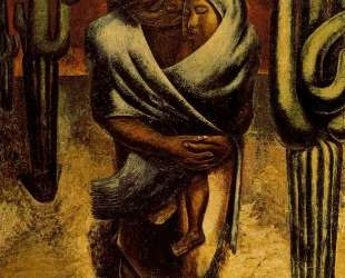 Peasant Mother — Давид Альфаро Сикейрос