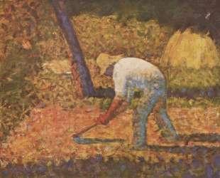Крестьянский мальчик с мотыгой — Жорж Сёра