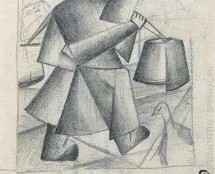 Крестьянка с ведрами — Казимир Малевич