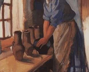 Крестьянка с горшками — Зинаида Серебрякова