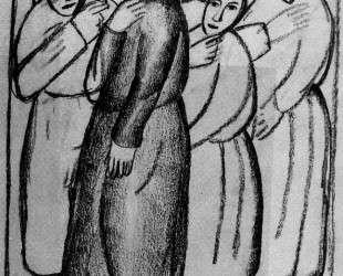 Крестьянки в церкви — Казимир Малевич