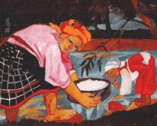Peasant Women — Наталья Гончарова