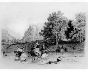 Peasants Crossing a Stream — Томас Икинс
