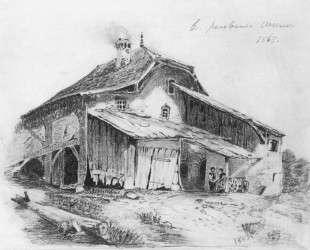 Сельский домик — Фёдор Васильев