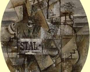Столик 'Сталь' — Жорж Брак