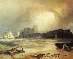 Pembroke Caselt, South Wales, Thunder Storm Approaching — Уильям Тёрнер