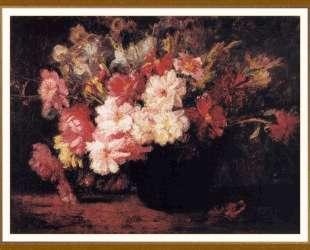 Peonies and Irises — Теодор Клемент Стил