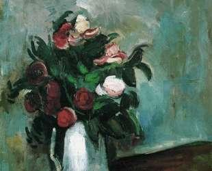 Peonies in a Vase — Морис де Вламинк