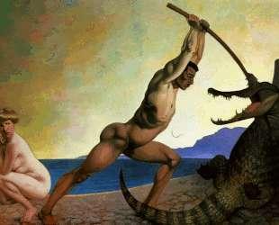 Persee killing the Dragon — Феликс Валлотон