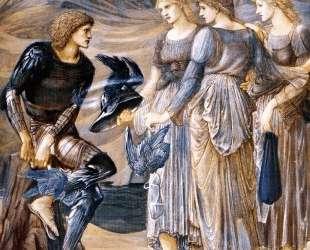 Персей и морские нимфы — Эдвард Бёрн-Джонс