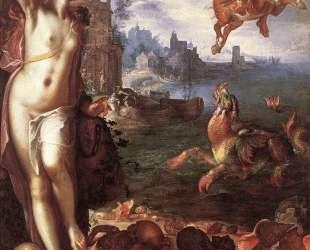 Perseus Rescuing Andromeda — Йоахим Эйтевал