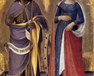 Алтарь из Перуджи (правая панель) — Фра Анджелико
