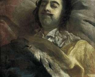 Peter I on his deathbed — Иван Никитин