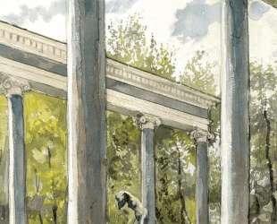 Петергоф. Львиный каскад и колоннада — Александр Бенуа