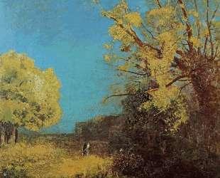 Peyrelebade Landscape — Одилон Редон