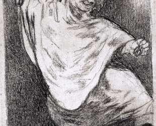 Phantom Dancing with Castanets — Франсиско де Гойя