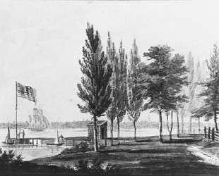 Philadelphia from across the Delaware River — Павел Свиньин