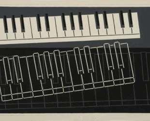 Piano Keys — Джозеф Альберс