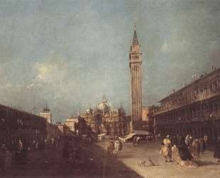 Piazza San Marco — Франческо Гварди