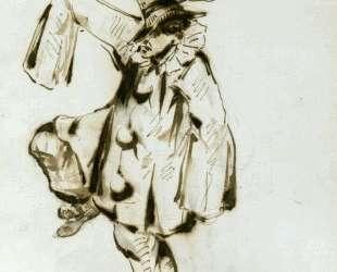 Pierrot dancing — Эдуард Мане