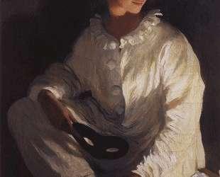 Пьеро (Автопортрет в костюме Пьеро) — Зинаида Серебрякова