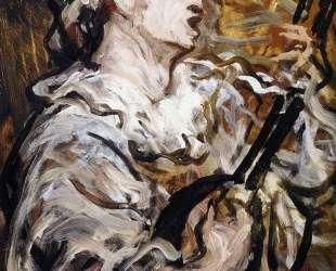 Пьеро с гитарой — Оноре Домье