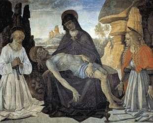 Пьета со Св. Иеронимом и Св. Марией Магдалиной — Пьетро Перуджино