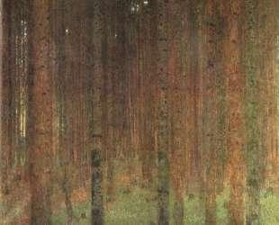 Pine Forest II — Густав Климт