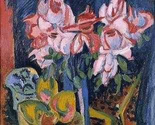 Pink Roses — Эрнст Людвиг Кирхнер