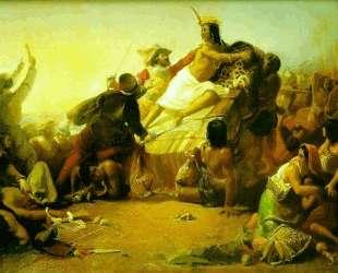 Pizarro Seizing the Inca of Peru — Джон Эверетт Милле