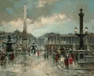 Place de la Concorde — Антуан Бланшар
