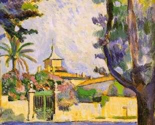 Place des Lices, St. Tropez — Анри Матисс