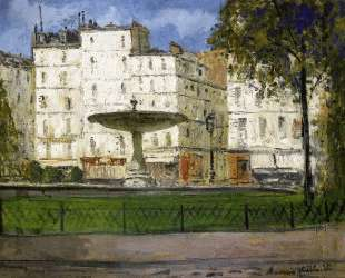 Place Pigalle — Морис Утрилло