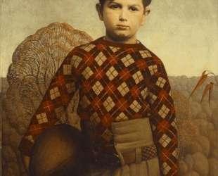Plaid Sweater — Грант Вуд