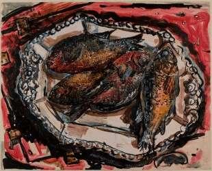 Platter under Georgia Fish — Айвен Олбрайт