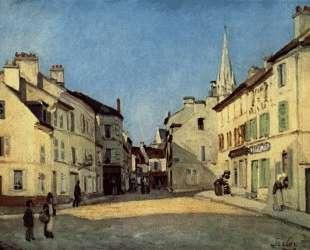 Platz in Argenteuil — Альфред Сислей