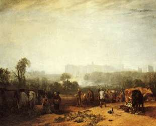 Ploughing up Turnips, near Slough — Уильям Тёрнер
