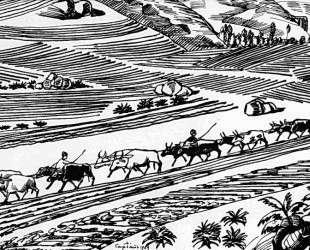 Plowing — Мартирос Сарьян