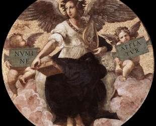 Poetry, from the 'Stanza della Segnatura' — Рафаэль Санти